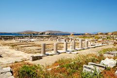 Ruins Of Delos, Greece Stock Image