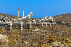Ruins of Delos Stock Image