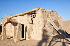 Ruins in Desert Stock Photography