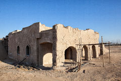 Ruins in Desert Royalty Free Stock Images