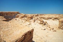 Ruins in Desert royalty free stock image