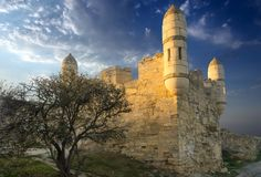 Ruins of castle Royalty Free Stock Photos
