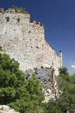 Ruins of Devicky Castle Stock Photography
