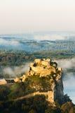 Ruins of Devin Castle. Slovakia Stock Image