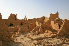 Ruins of Diriyah Royalty Free Stock Images