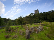 Ruins of Dolwyddelan castle, North Wales Royalty Free Stock Photos