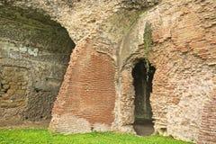 Ruins doorway. Doorway to ancient Ruins in Rome Royalty Free Stock Photo