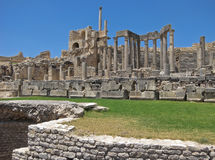 Ruins of Dougga Royalty Free Stock Photos