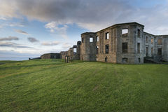 Ruins of Downhill House, Castlerock Royalty Free Stock Photo