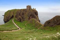 Ruins of Dunnottar Castle, Scotland, Stock Image