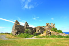 Ruins of Dunure Castle Stock Photos