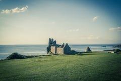 Ruins of Dunure Castle, Ayrshire, Scotland, UK Royalty Free Stock Image