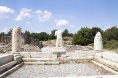 Ruins of earlier Aphrodisias Stock Photos