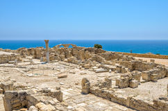 Ruins of an early Christian basilica on Cyprus Royalty Free Stock Photography
