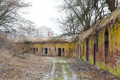 The ruins of the Eastern fort, Brest Stock Photos
