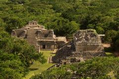The ruins of Ek Balam in Yucatan, Mexico Royalty Free Stock Photo