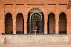 Ruins of El Badi palace.  Marrakesh . Morocco Royalty Free Stock Image