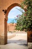 Ruins of El Badi palace.  Marrakesh . Morocco Royalty Free Stock Images