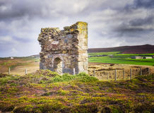 Ruins,  English Countryside, St. Agnes, Cornwall Royalty Free Stock Photo