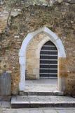 Ruins entrance way Royalty Free Stock Images