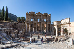 Ruins of Ephesos, Turkey Royalty Free Stock Photo