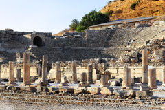 Ruins of Ephesus Royalty Free Stock Image