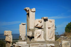 Ruins of Ephesus Royalty Free Stock Photos