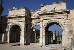 The ruins of Ephesus Royalty Free Stock Image