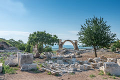 Ruins  in Ephesus Stock Images