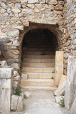 Ruins of Ephesus, Turkey. Stony gate - ruins of the antique city Ephesus, Turkey Stock Image