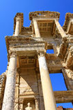The Ruins at Ephesus, Turkey. The spectacular Library of Celcus in the ruins of Ephesus, near Kusadasi, Turkey Royalty Free Stock Images