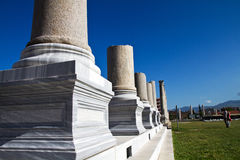 The ruins of Ephesus Royalty Free Stock Photos