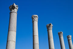 The ruins of Ephesus Royalty Free Stock Photo