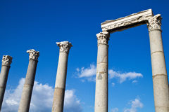 The ruins of Ephesus Stock Photo