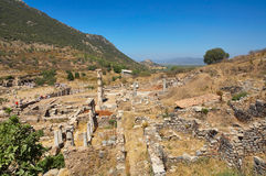 Ruins of Ephesus. Turkey Stock Photo