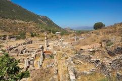 Ruins of Ephesus. Turkey Stock Photo