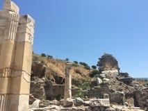 Ruins of Ephesus in Turkey Stock Photos