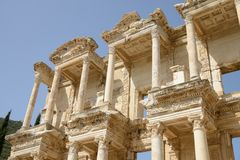 The Ruins at Ephesus, Turkey royalty free stock images