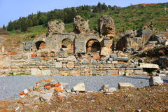 Ruins in Ephesus, Turkey Stock Image