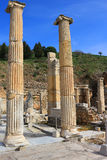 Ruins in Ephesus, Turkey Royalty Free Stock Photos