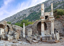 Ruins of Ephesus Stock Photography