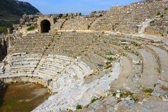 Ruins in Ephesus, Turkey Royalty Free Stock Photos