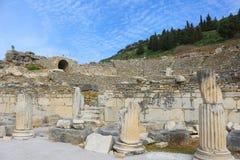Ruins in Ephesus, Turkey Stock Images