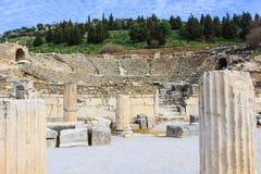 Ruins in Ephesus, Turkey Stock Photo