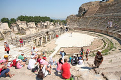 Ruins in Ephesus, Turkey Stock Photo