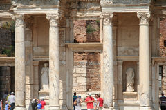 Ruins in Ephesus, Turkey Royalty Free Stock Photo