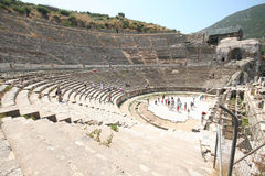 Ruins in Ephesus, Turkey Royalty Free Stock Images