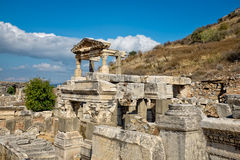 Ruins of Ephesus. Royalty Free Stock Photos