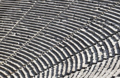 Ruins of Epidaurus amphitheater Royalty Free Stock Photography