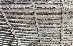 Ruins of Epidaurus amphitheater, Greece Stock Images